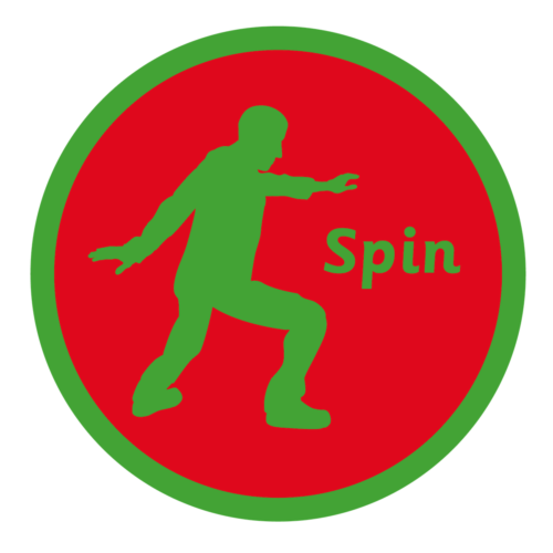 Playground Marking Spin Solid Active Spot
