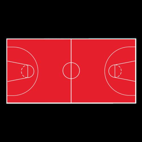Playground-Marking-Sports-Coated-Basketball