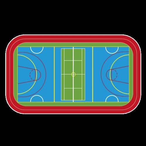 Playground-Marking-Sports-Coating-Multicourt-with-Running-Track