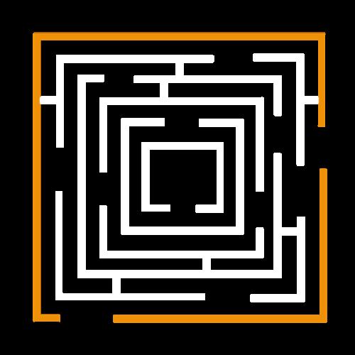 Playground-Marking-Square-Maze