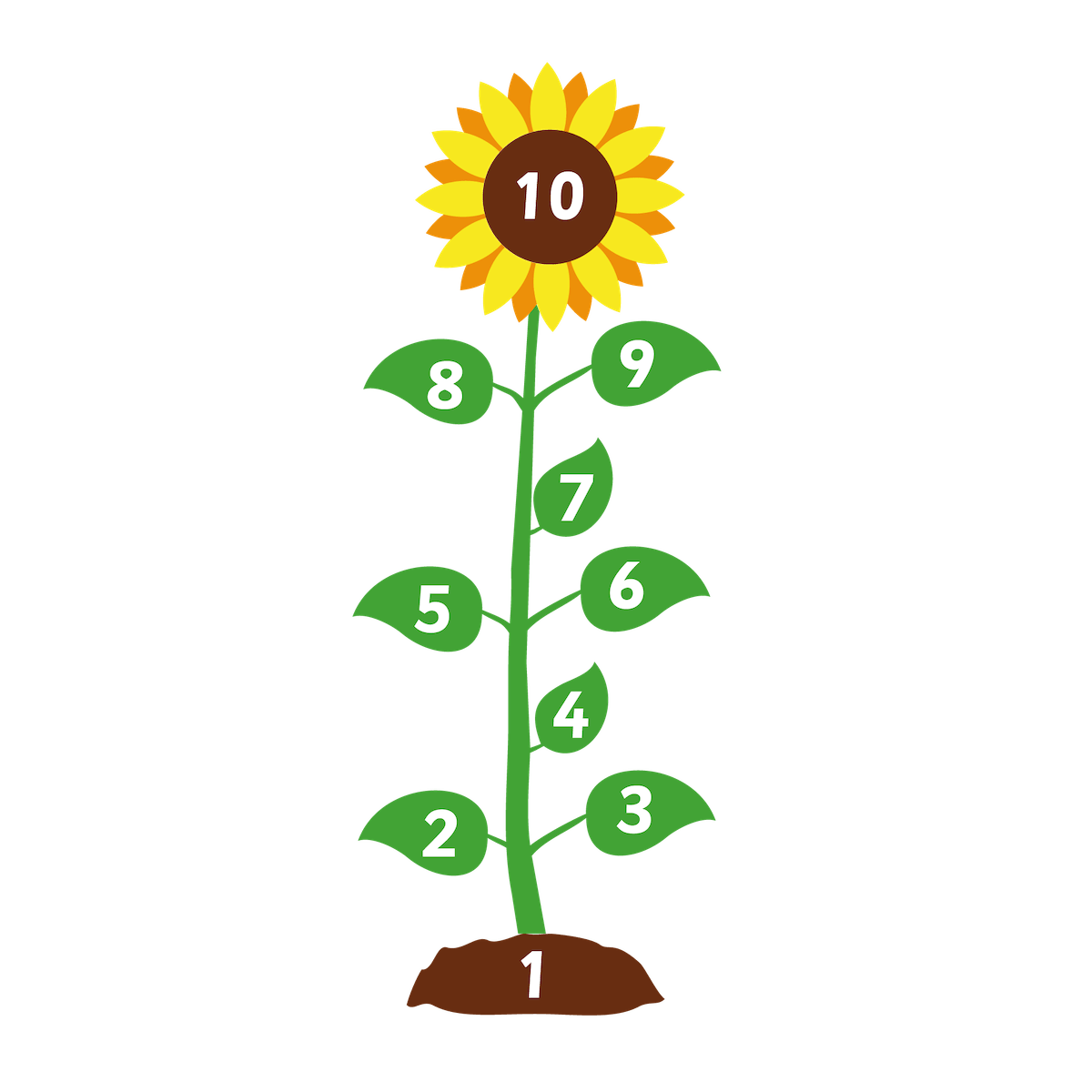Playground Marking Sunflower Hopscotch