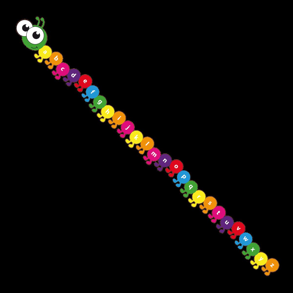 Playground Marking a-z Caterpillar