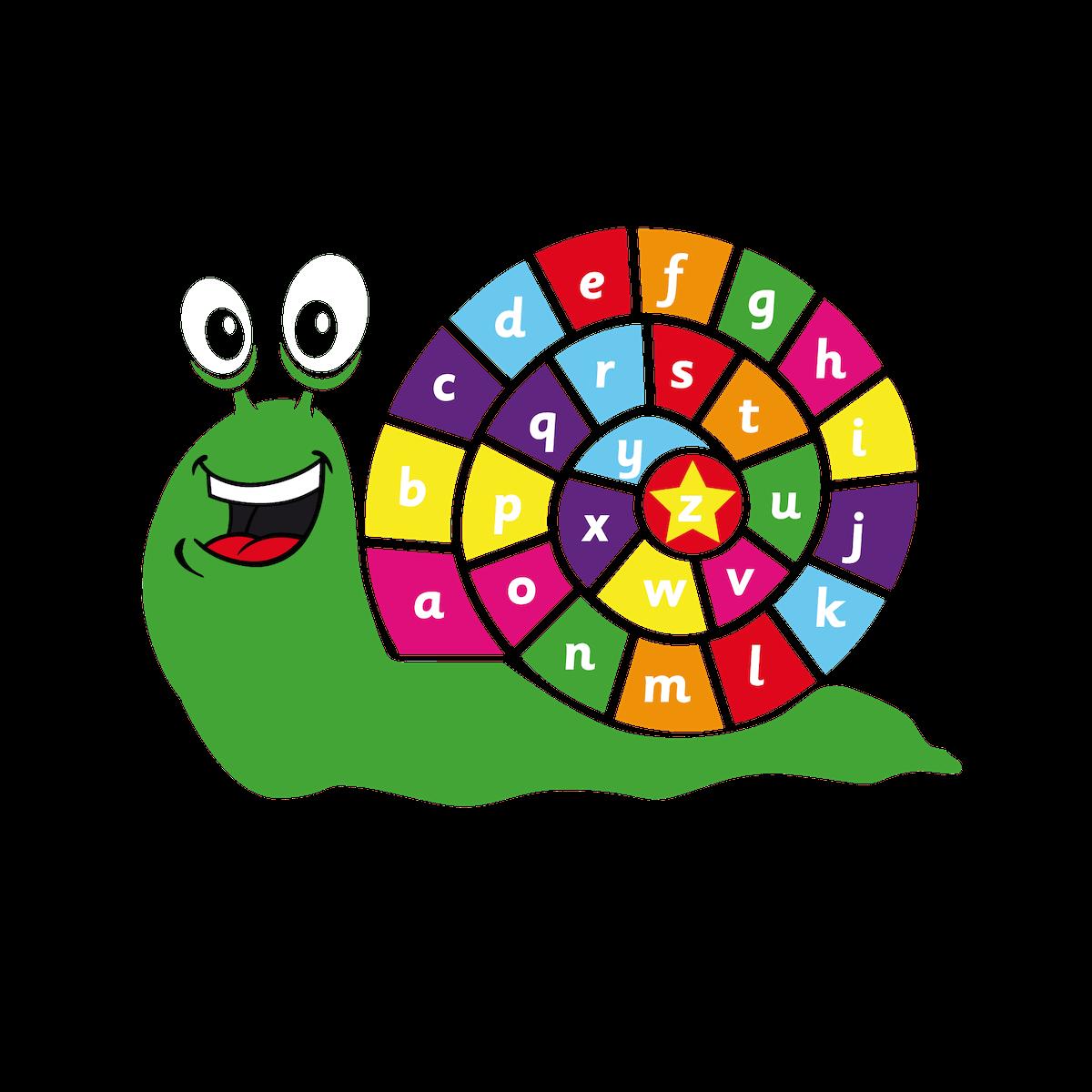 Playground Marking a-z Snail