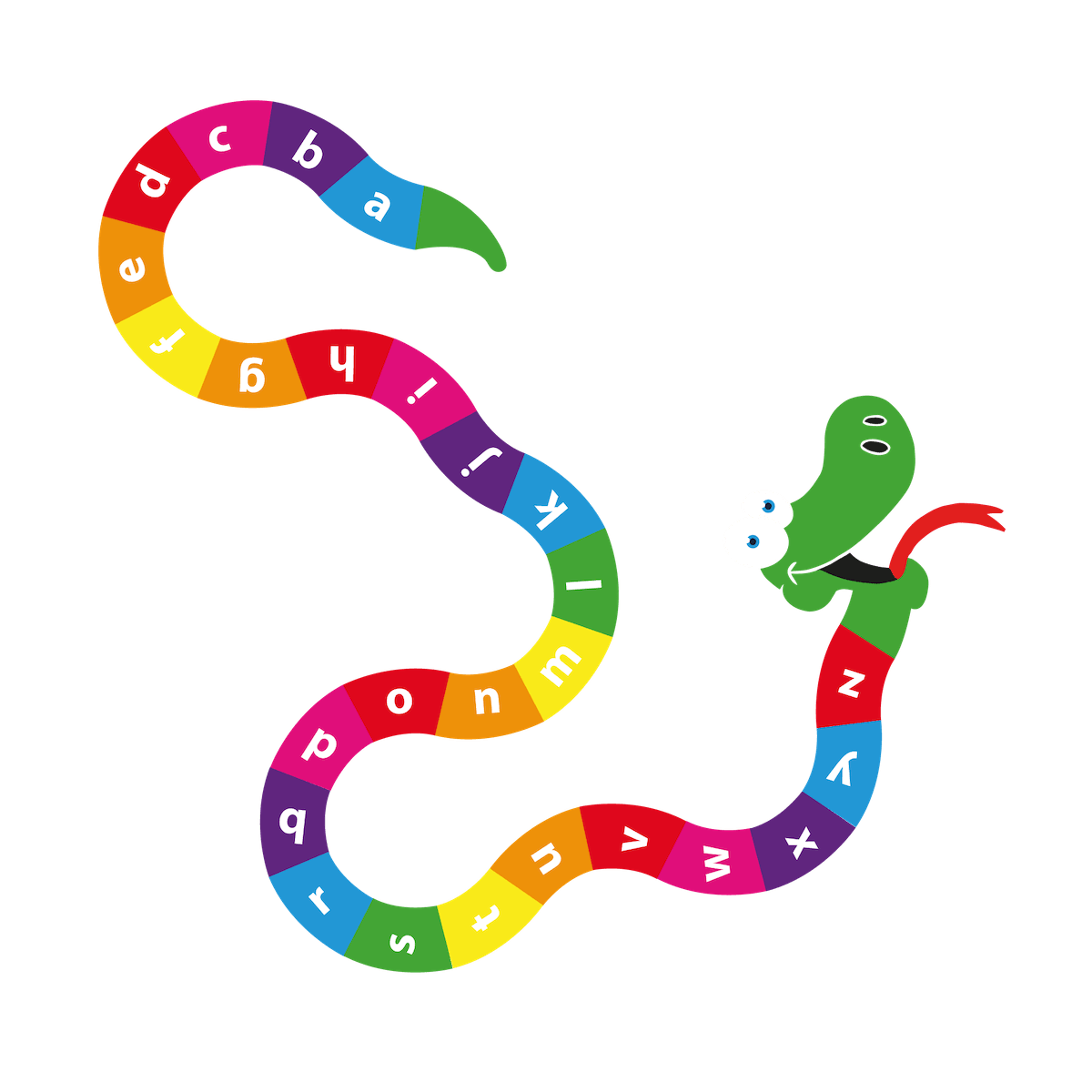 Playground Marking a-z Snake