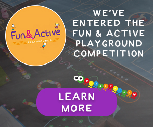 Fun & Active Playgrounds Competition Banner