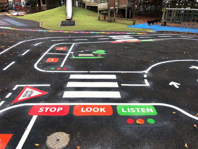 Roadway-Playground-Marking