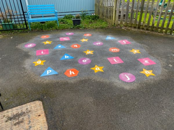 Shapes-a-z-lower-case-playground-marking