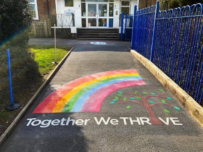 Shawley-Community-Primary-School-Logo-Playground-Marking