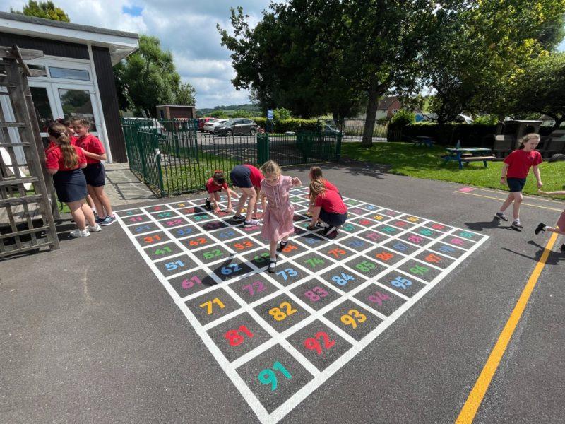 Singleton-CE-Primary-School-Number-Grid-Playground-Marking