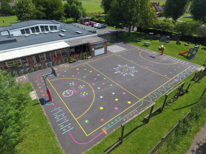 Singleton-CE-Primary-School-Playground-Markings