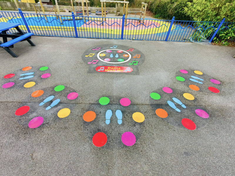 Tadley-Primary-School-Dance-With-Me-Playground-Marking