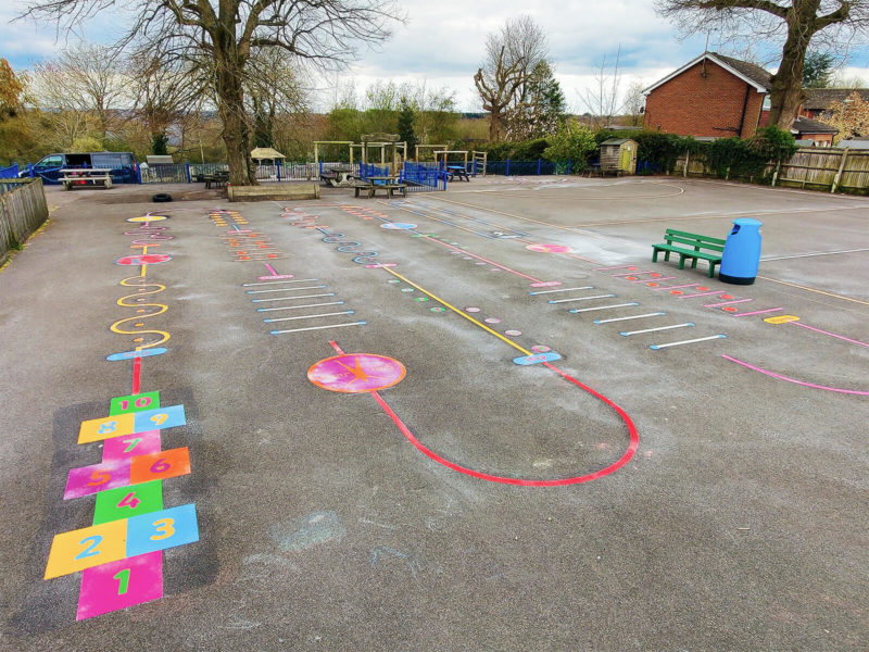 Tadley-Primary-School-Deluxe-Fun-Active-Trail-Playground-Marking (1)