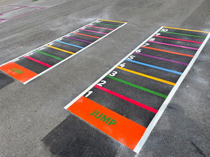 Verwood-Primary-Jump-Game-Playground-Marking