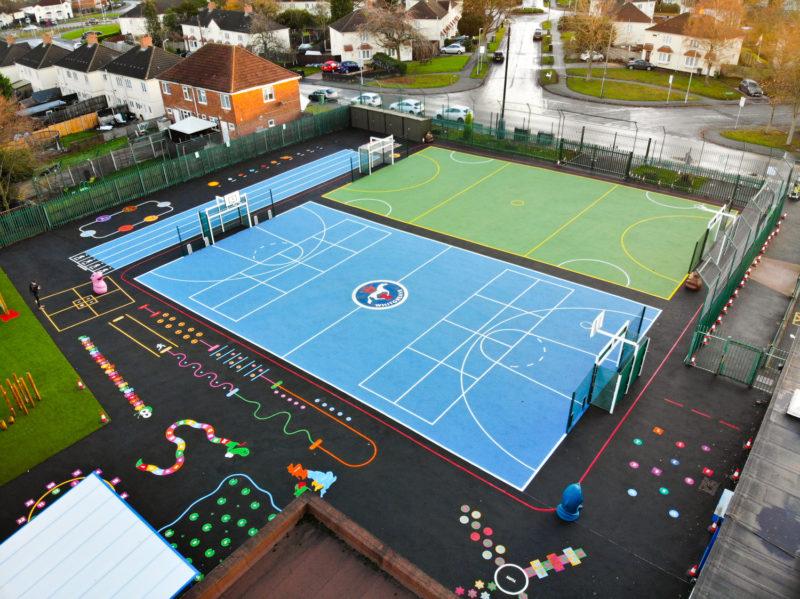 Whitgreave-Primary-School-Playground-Marking-West-Midlands