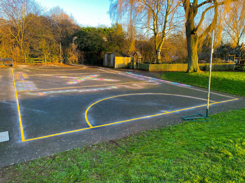 Wymondham-C-of-E-Primary-School-Playground-Marking-Leicestershire (2)