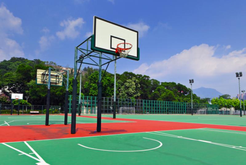 public-basketball-court